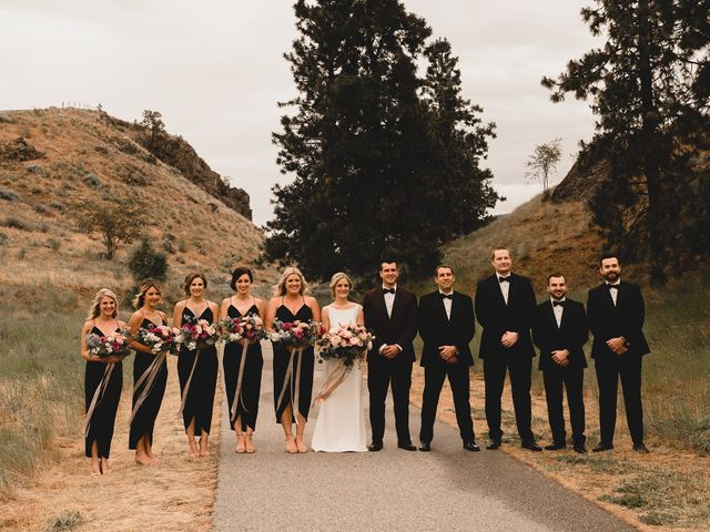 Alex and Charisse's wedding in Penticton, British Columbia 57