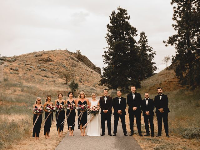 Alex and Charisse's wedding in Penticton, British Columbia 58
