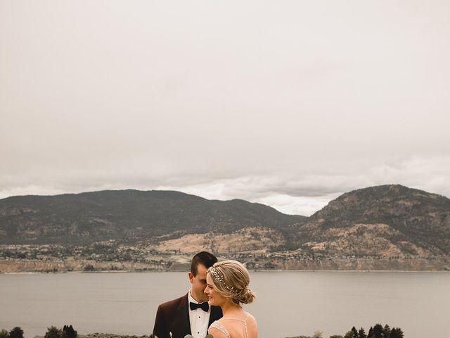 Alex and Charisse's wedding in Penticton, British Columbia 77