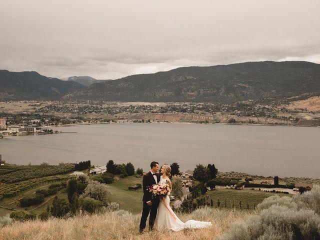 Alex and Charisse's wedding in Penticton, British Columbia 83