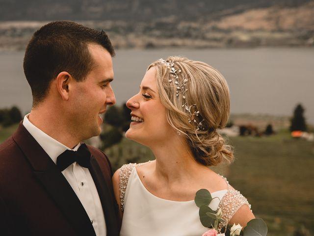 Alex and Charisse's wedding in Penticton, British Columbia 85