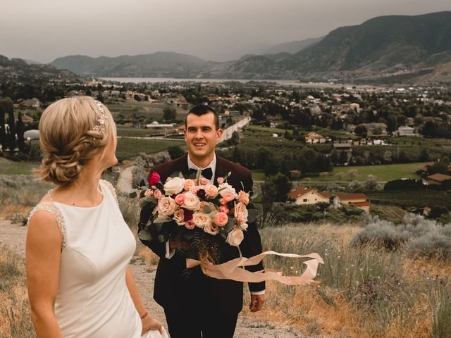 Alex and Charisse's wedding in Penticton, British Columbia 88