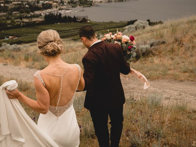 Alex and Charisse's wedding in Penticton, British Columbia 95