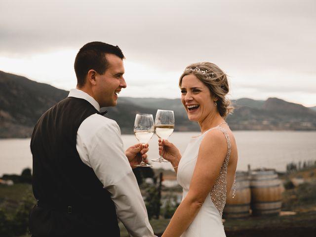 Alex and Charisse's wedding in Penticton, British Columbia 125