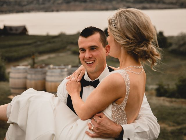 Alex and Charisse's wedding in Penticton, British Columbia 2