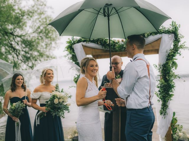 The wedding of Sarah and Nick