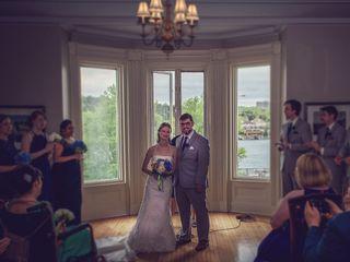 The wedding of Jennifer and Richard