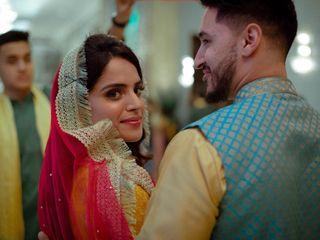 The wedding of Faiz and Ravina 1