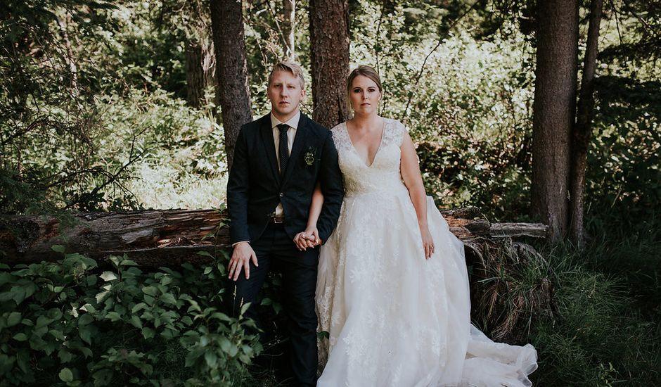 Alex And Lindsay 's Wedding In Kananaskis, Alberta