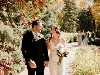 The wedding of Dawna and Josh
