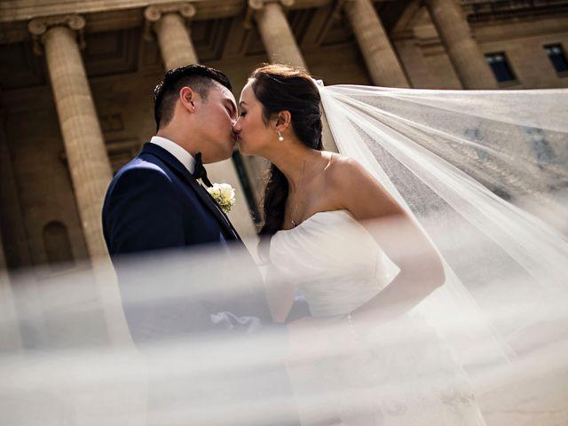 Arvine and Darlene's wedding in Winnipeg, Manitoba 18