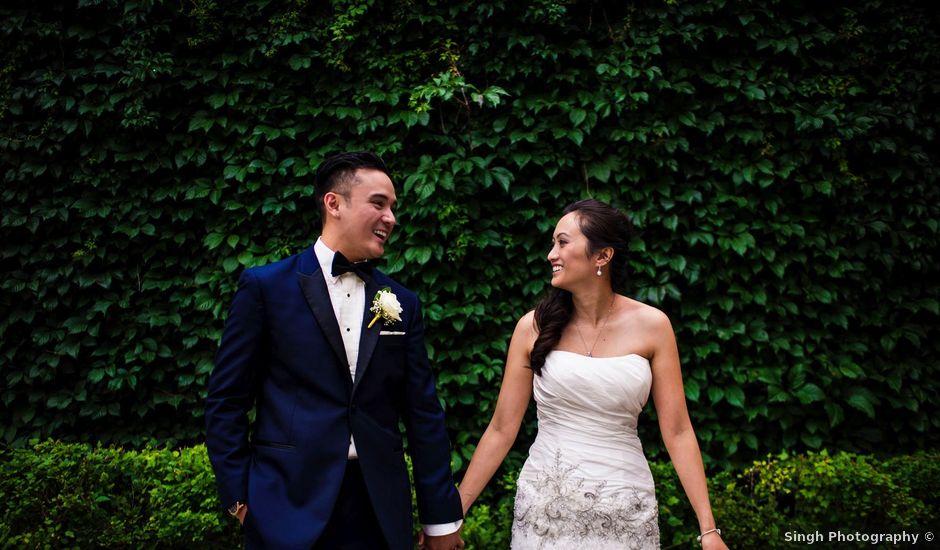 Arvine and Darlene's wedding in Winnipeg, Manitoba