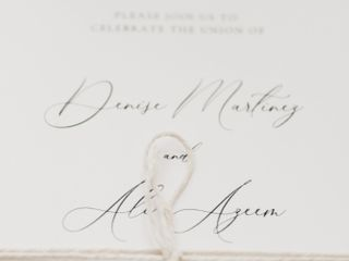 The wedding of Denise and Ali 3