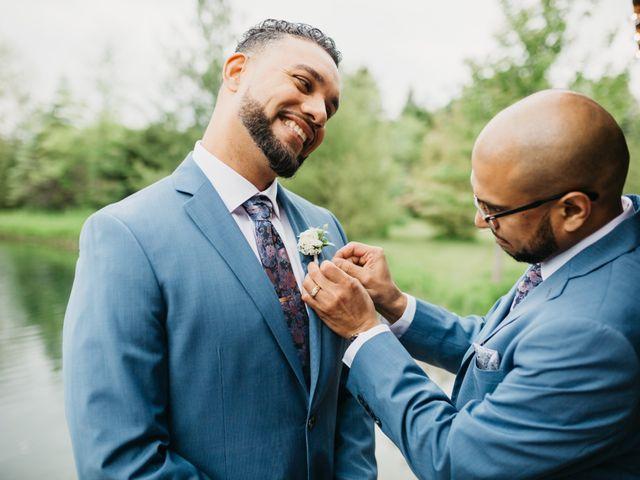Ali and Denise's wedding in Innisfil, Ontario 33