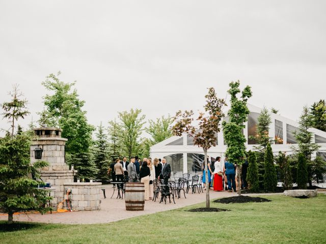 Ali and Denise's wedding in Innisfil, Ontario 38