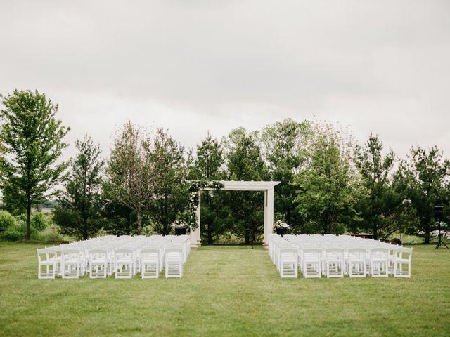 Ali and Denise's wedding in Innisfil, Ontario 1