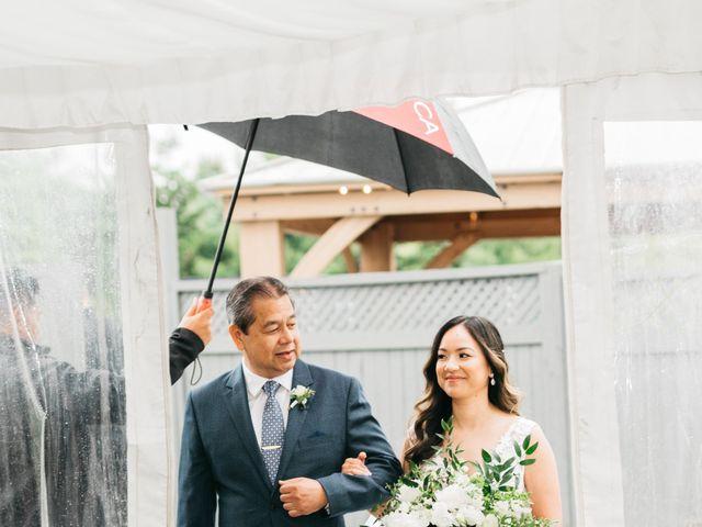Ali and Denise's wedding in Innisfil, Ontario 45