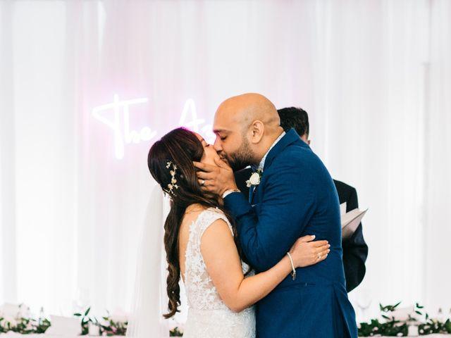 Ali and Denise's wedding in Innisfil, Ontario 61