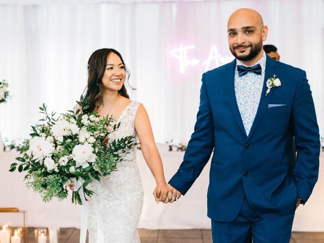 Ali and Denise's wedding in Innisfil, Ontario 2