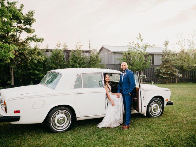 Ali and Denise's wedding in Innisfil, Ontario 100