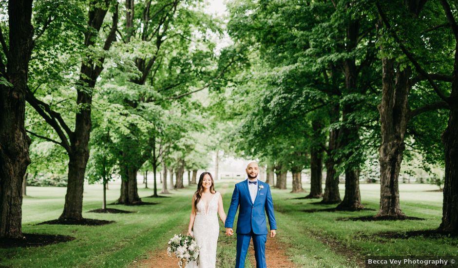 Ali and Denise's wedding in Innisfil, Ontario