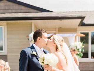 The wedding of Miranda and Kyle