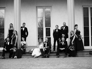 The wedding of Alexandra and Jesse