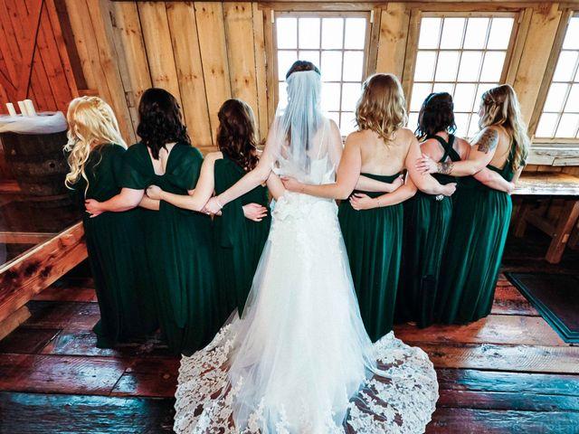 Kelsey and Stephen's wedding in Brussels, Ontario 4