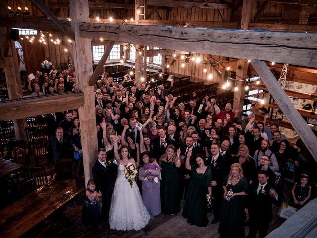 Kelsey and Stephen's wedding in Brussels, Ontario 2