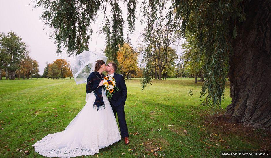 Kelsey and Stephen's wedding in Brussels, Ontario