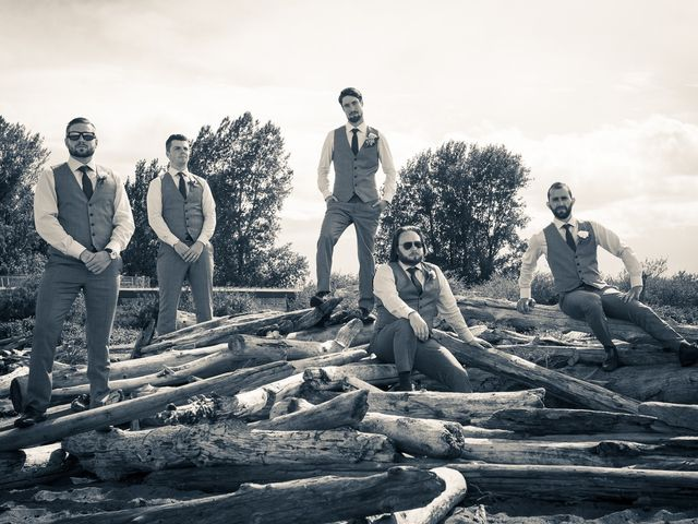 Geoff and Kristen's wedding in Tsawwassen, British Columbia 22