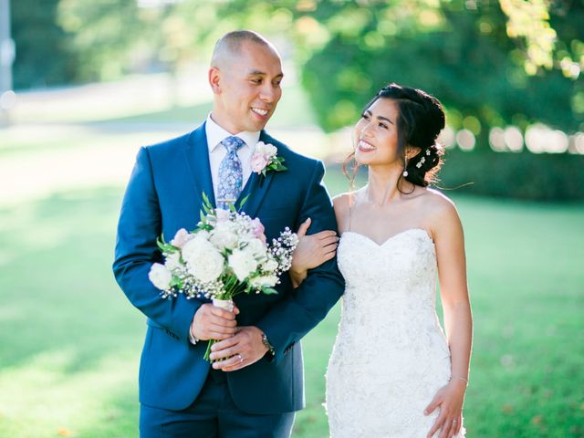 The wedding of Raymond and Toni