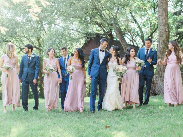 The wedding of Sara and Dani