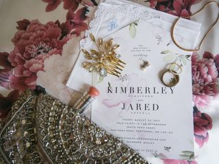 The wedding of Jared and Kim 1