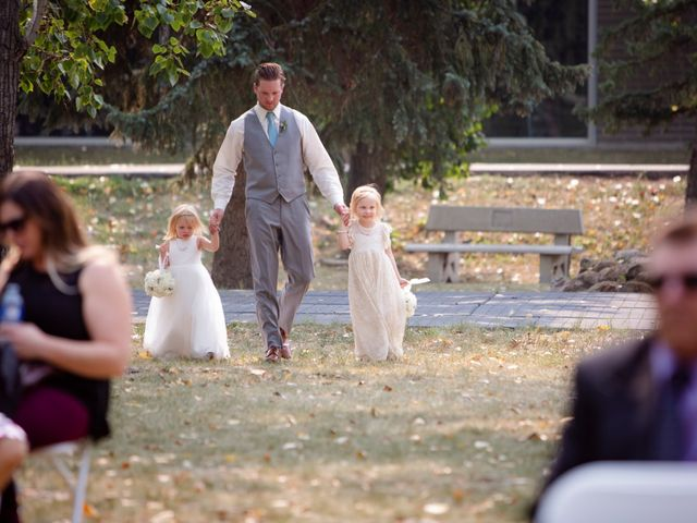 Ryan and Chrissy's wedding in Drumheller, Alberta 3
