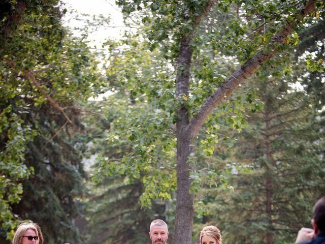 Ryan and Chrissy's wedding in Drumheller, Alberta 5