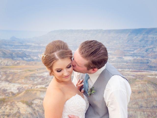 Ryan and Chrissy's wedding in Drumheller, Alberta 9