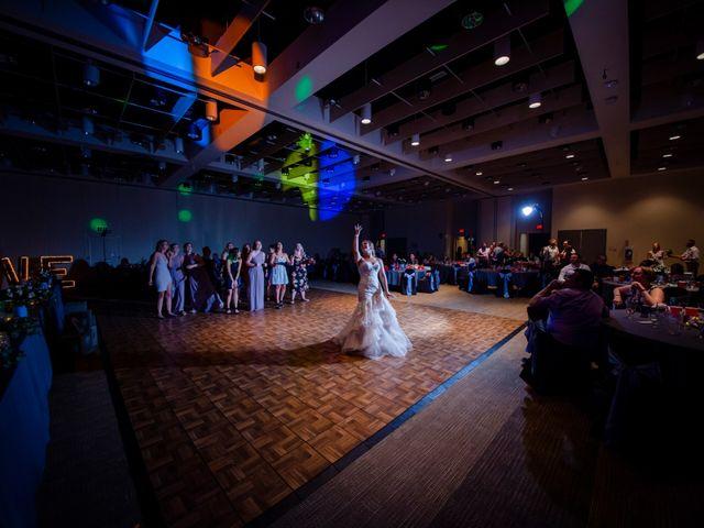 Ryan and Chrissy's wedding in Drumheller, Alberta 10