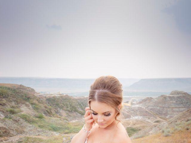 Ryan and Chrissy's wedding in Drumheller, Alberta 13