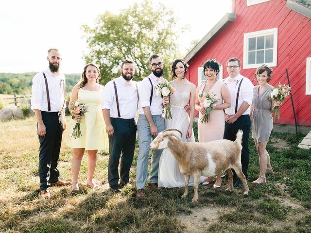 Darryl and Sean's wedding in Bethany, Ontario 1