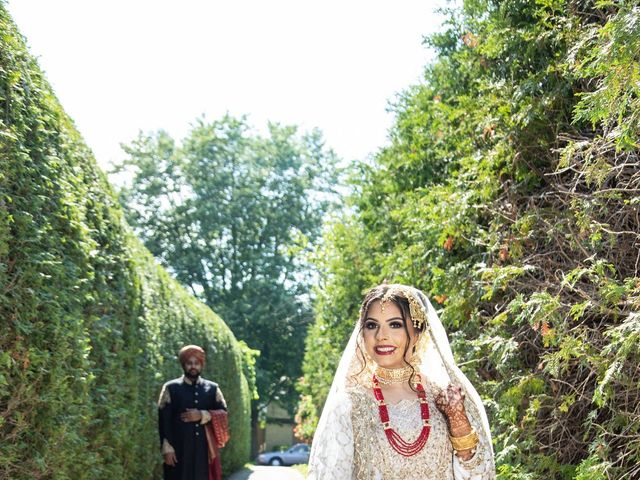 The wedding of Saima and Usama