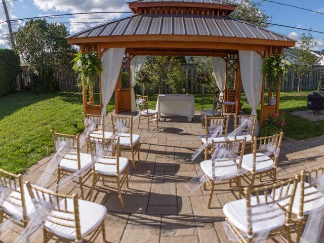 Vincent and Georges's wedding in Sainte-Julie, Quebec 4