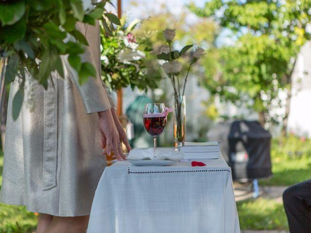 Vincent and Georges's wedding in Sainte-Julie, Quebec 22