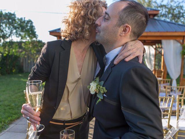Vincent and Georges's wedding in Sainte-Julie, Quebec 34