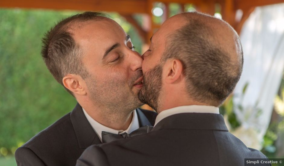 The wedding of Georges and Vincent
