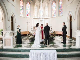 The wedding of Joe and Danielle