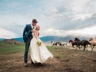 The wedding of Andrea and Eoin