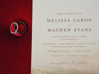 The wedding of Melissa and Mathew 3