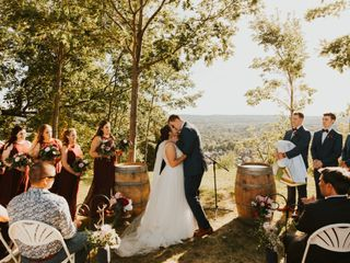 The wedding of Sawyer and Jen