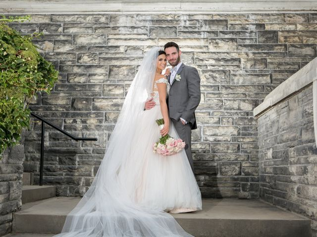 The wedding of Sully and Evan